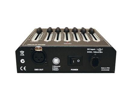 """DMX Faderpult SDC-6, Der """"little Helper"""", 6 DMX Kanäle"""