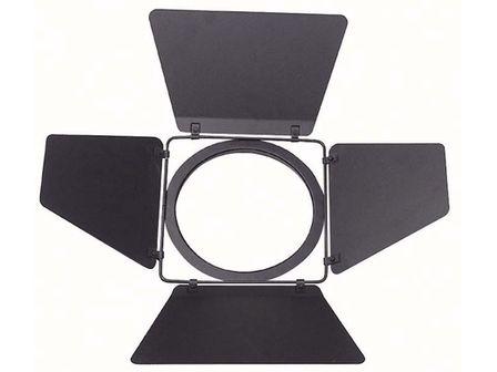 Torblende für Showtec & Eurolite PAR 64 Scheinwerfer, schwarz