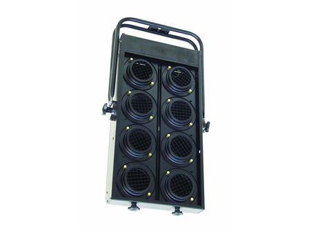 Audience Blinder,8xPAR-36,schwarz für DWE 120V / 650W