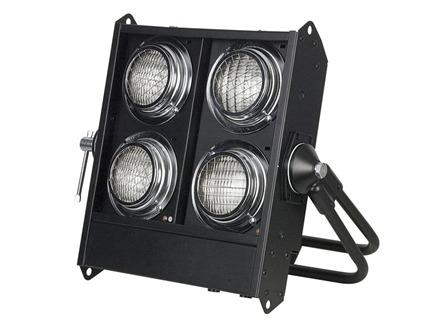 Stage Blinder 4 Black Dmx Bulb 120V 650W DWE