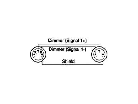 DMX Adapter - Turnaround von 3pin male / auf 5pin female