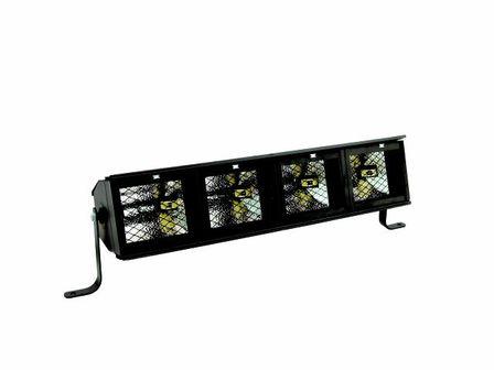 Fluter-Rampe, 4 x R-7-s, mit Filterrahmen