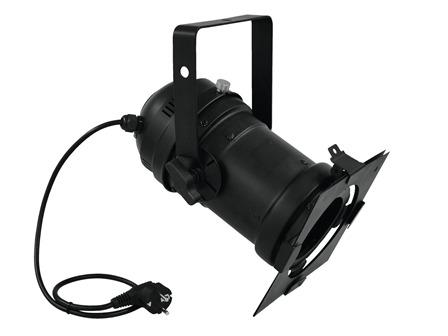 EUROLITE PAR-46 Spot CDM-70 E27 schwarz