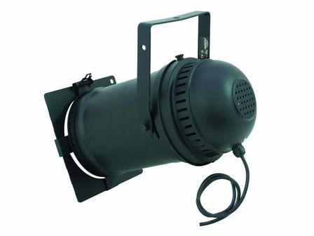 PAR-64 Profi Spot, mit Kabel, schwarz