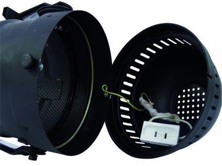 PAR-64 Profi Floorspot, mit Kabel, schwarz