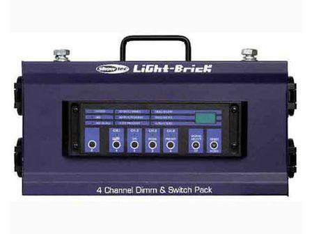 Showtec Lightbrick 4 Channel Dimming Pack DMX