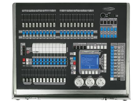 Showtec Creator 1024 PRO Moving Light Controller incl Flightcase
