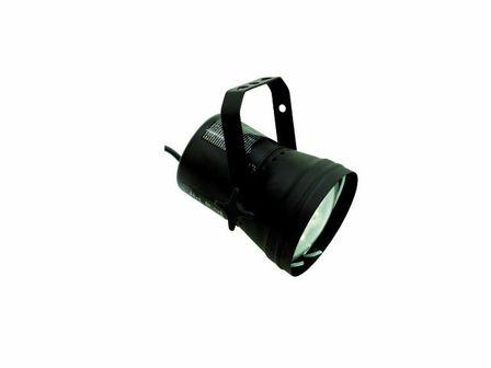 EUROLITE T-36 Pinspot schwarz, betriebsfertig, mit Stecker und Leuchtmittel