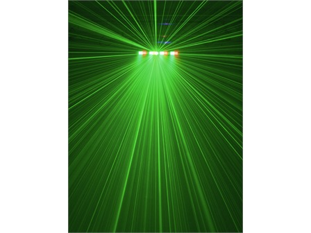 Eurolite LED Laser Bar - 190 RGB LEDs + RG Laser