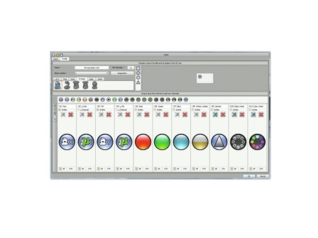 EUROLITE Pro Control DMX-Software 1024
