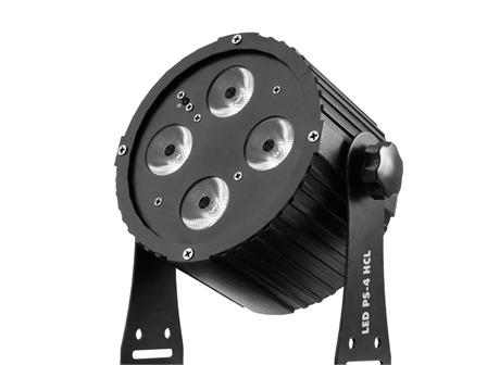 Eurolite LED PS-4 HCL Spot 4 x 12W RGBAWUV LED inkl. Fernbedienung