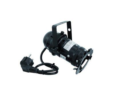 EUROLITE LED PAR-16 schw. 230V 1x3W 6500K
