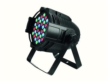 EUROLITE LED ML-56 RGB 36x3W schwarz