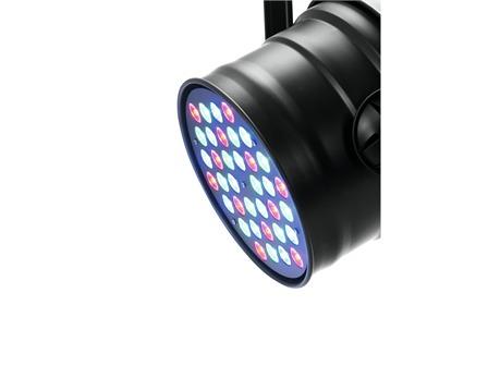 EUROLITE LED PAR-64 RGB 36x3W Short schwarz