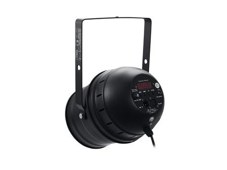EUROLITE LED PAR-64 short 49 LEDs 3W RGBW+UV schwarz