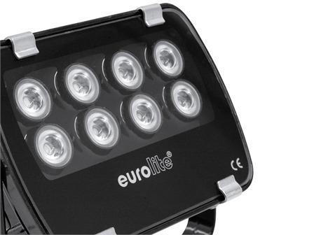 EUROLITE LED IP FL-8 ROT 60° für den Außenbereich IP56