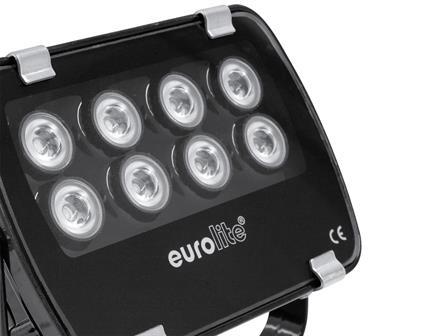 Eurolite LED IP FL-8 grün 30°