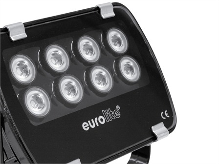 EUROLITE LED IP FL-8 grün 60°