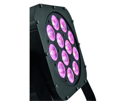 EUROLITE LED SLS-12 QCL 12x5W RGBW Floor NSP, Slimline LED-Spot