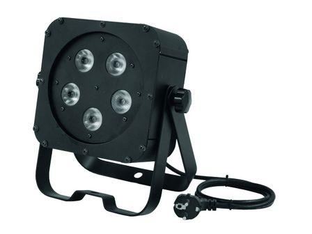 Eurolite LED SLS-5 BCL 5x5W Floor, black, DMX, Kaltweiß+Warweiß, CW+WW
