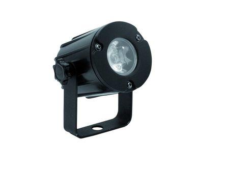 EUROLITE LED PST-3W 3200K 6° Warmweiß schwarz LED Pinspot