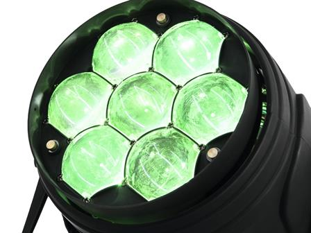 Eurolite LED Z-PAR QCL 7x10W RGBW