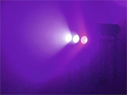 eurolite LED CBB-3 COB RGB 3x15W Leiste