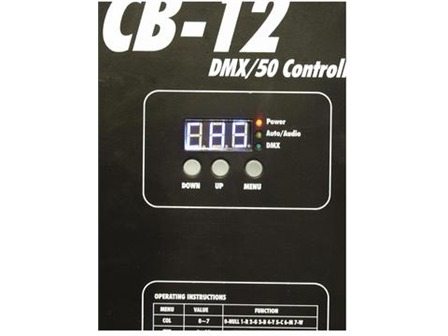 EUROLITE LED CB-12/50 DMX Controller für LED Ball