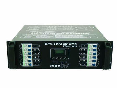 "EUROLITE DPX-1216 MP DMX 19"" Dimmerpack"