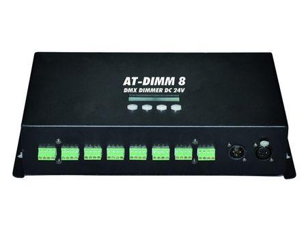 EUROLITE AT-DIMM 8 DMX Dimmer DC 24V/6A