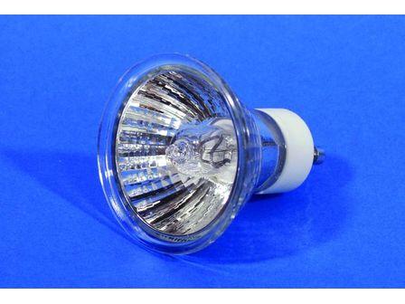 PAR-16 Spot silber 230V inkl. 75 Watt GU-10 Lampe