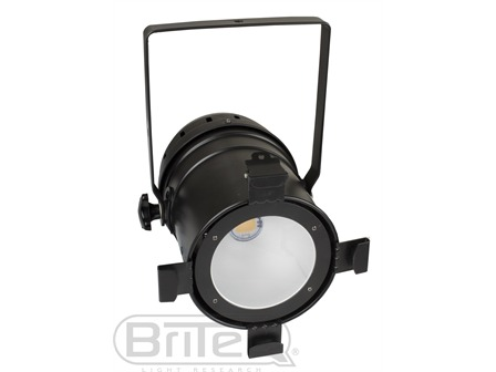 BriteQ - COB PAR 56 100WW Black - 100W Warmweiß LED schwarz