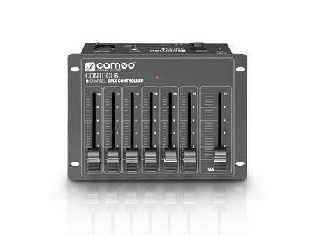 Cameo CONTROL 6 - 6-Kanal DMX-Controller
