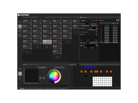 Cameo DVC 4 - 512-Kanal DMX-Interface und Steuersoftware