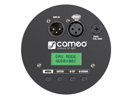 Cameo PAR 64 CAN RGBWA+UV - 12 x 10W 6-in-1 LED, schwarz, hex