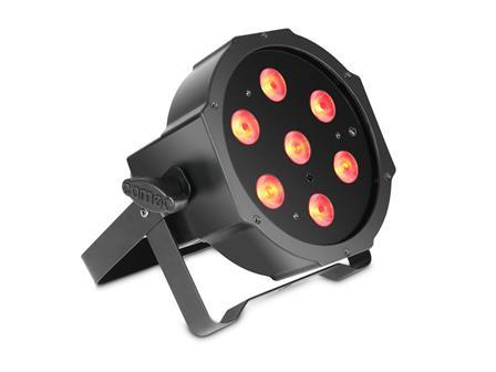 Cameo FLAT PAR 1 RGBW - 7 x 4 W High Power schwarz