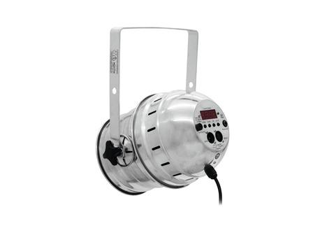 EUROLITE LED PAR-64 RGBAW 49x3W short silber
