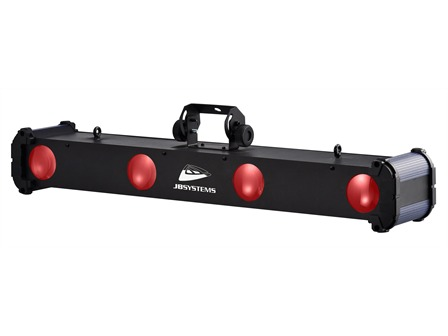 JB Systems - Super Quadra Beam - 4fach LED Effekt 4x9x1W RGBW DMX