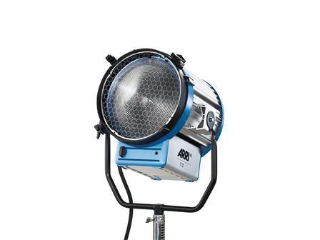 ARRI STUDIO T12, Studio, 12000W, MAN, blau/silber, 220V-250V, ohne Stecker, Kabel 4m, inkl. Flügeltor