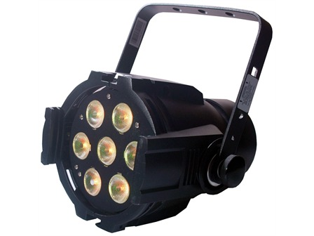 Protech Lighting Mini Multi PAR 7x4W RGBW