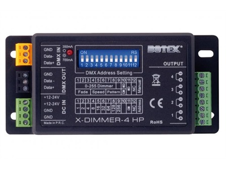 Controller LED X-Dimmer 4HP