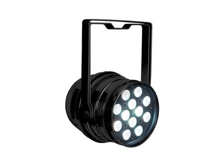 Showtec LED PAR 64 Q4-12 schwarz, QCL-LEDs, RGBW