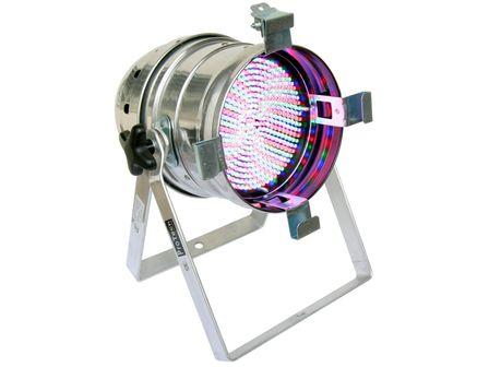 PRO TECH PAR-64 RGB LED MKII Floorspot, polish, 432 LEDs