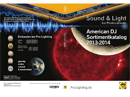 Katalog American DJ 2013/2014