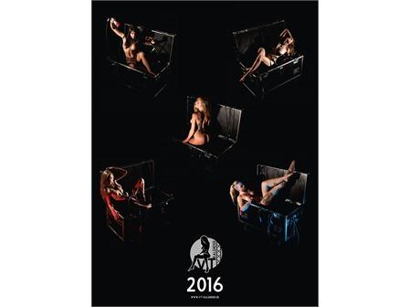 VT-Kalender 2016 Pin-Up Akt Erotik Wandkalender mit Veranstaltungstechnik
