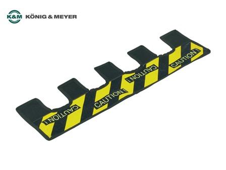 K&M Warnstreifen 21402 für Stative als Stolperschutz
