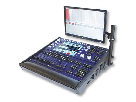 ChamSys MagicQ MQ 100 Pro 2014/2 Hybrid-Lichtsteuerkonsole - 64 Universen