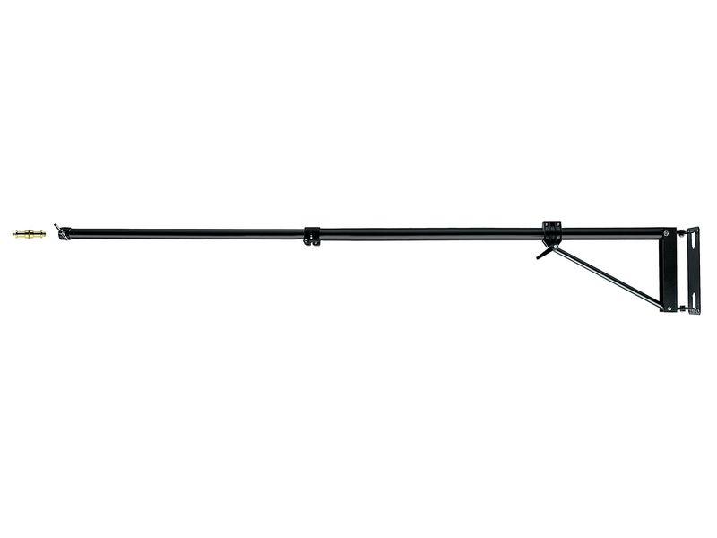 Manfrotto 098SHB Wandgalgen Schwarz 0,7-1,2 m