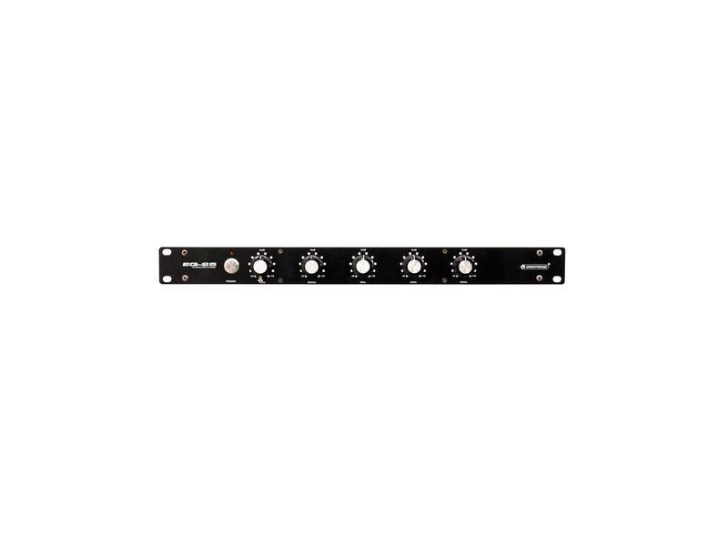 OMNITRONIC EQ-25 DJ-Equalizer - 5-Band-Stereo-Equalizer