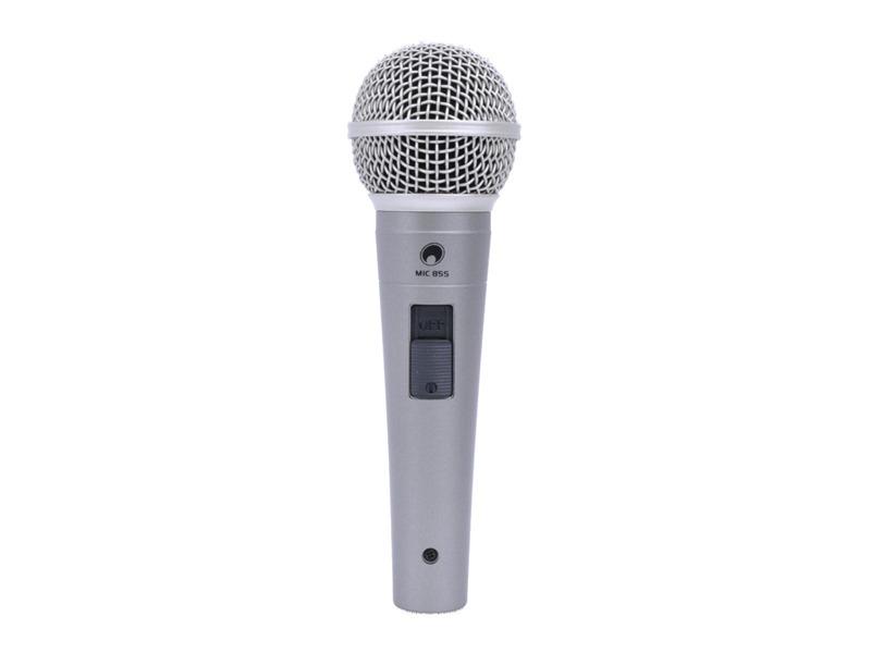 OMNITRONIC MIC 85S Dynamisches Mikrofon mit Schalter
